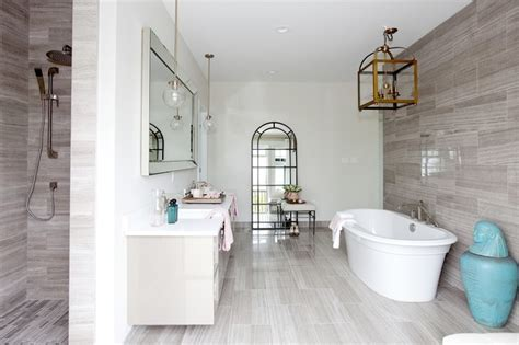 PNE Prize Home 2014 Transitional Bathroom vancouver by Studio1 Kitchen Design Inc