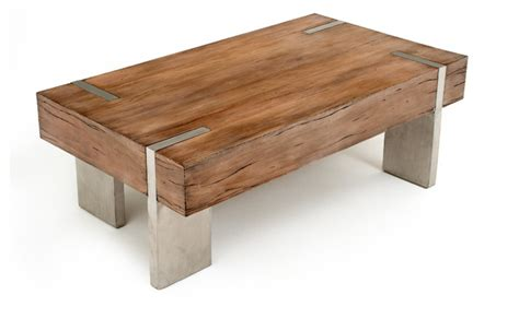 Rustic Contemporary Coffee Table Modern Rustic Block Coffee Table Transitional Coffee Tables Other Metro By Woodland