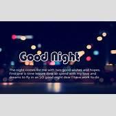 Good Night Sms ...