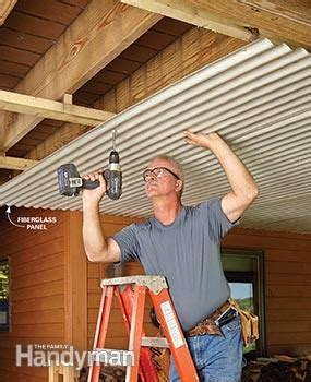 Roof Or Ceiling In The Form Of A Dome Deck Roof The Family Handyman