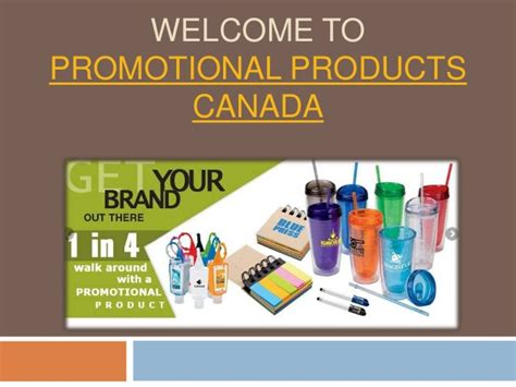 Promotional Giveaways Canada - promotional products canada