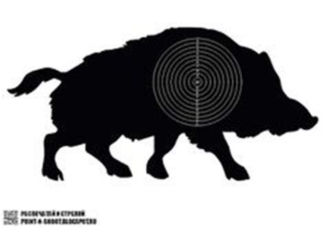 printable pig targets printable shooting targets colors are black white and