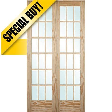 18 interior doors discount 9303 8 0 quot 18 lite pine interior prehung