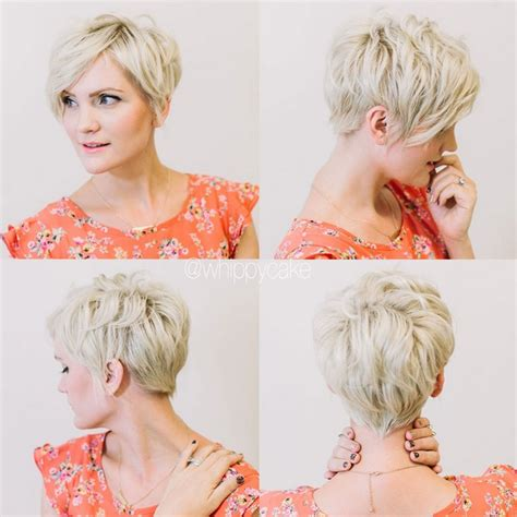 short layered hairstyles for women over 30 soft pixie short hairstyles for fine hair back view