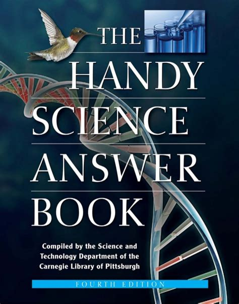 the answers book for the handy science answer book the handy answer book series