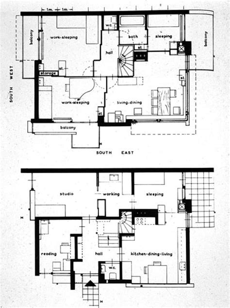 rietveld schroder house floor plans 96 best rietveld schroder house images on pinterest de