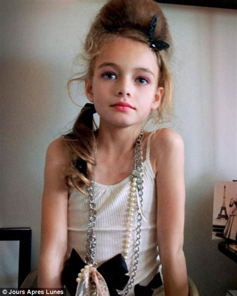 too young little girl models is four years too young for modelling