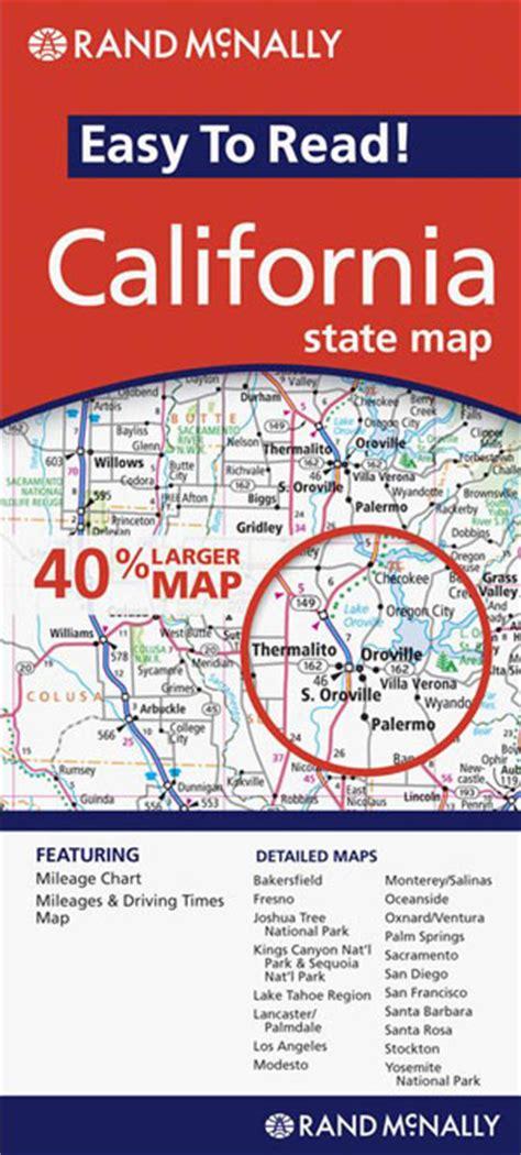 california map book california state map rand mcnally maps books travel