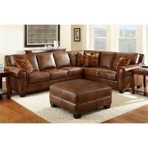 costco leather sectional sofa helena leather sectional and ottoman for the home