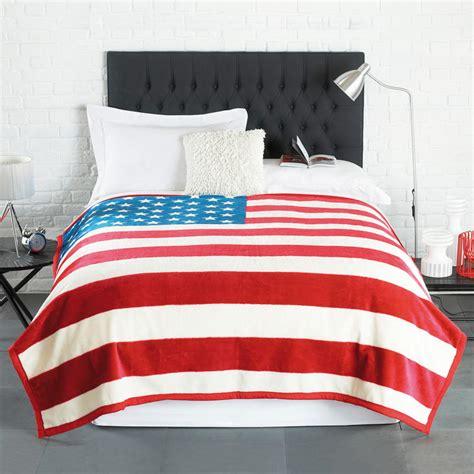 american flag bedding stars stripes american flag luxurious blanket bed sofa