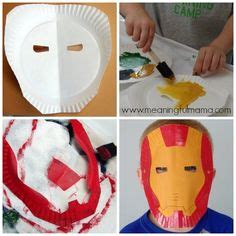How To Make Masks Out Of Paper Plates - diy iron gloves dollar store craft dollar store