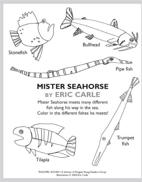 The Of Fish And Other Story Story Mazes Activity Book eric carle coloring pages hungry caterpillar