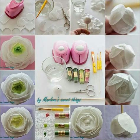 How To Make Wafer Paper Flowers - 203 best images about cakes rice wafer paper decorations