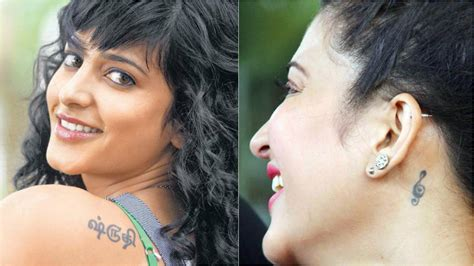 tattoo on nayanthara s hand 8 south indian actresses with impressive body tattoos