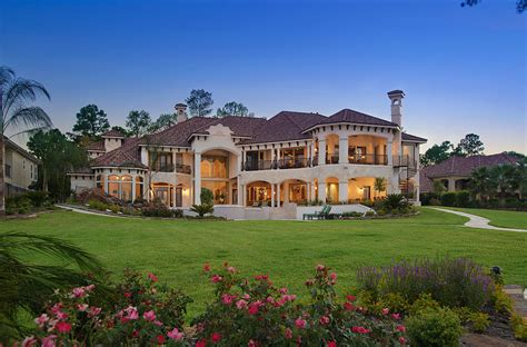 Southern Style Home Floor Plans lakefront mansion in houston tx designed by gary keith