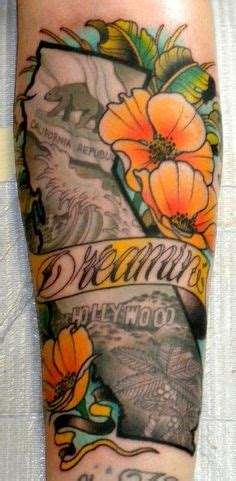 nor cal tattoo designs california state outline with classroom ideas