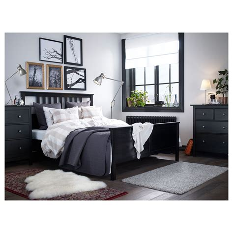 ikea hemnes bedroom hemnes bed frame black brown l 246 nset standard king ikea