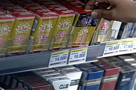 Rak Rokok produsen sai penjual eceran akan kena pajak rokok