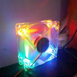 Fan Casing Pc 12 Cm Transparan Menyala Fan Casing Nyala jual beli fan kipas cooling casing pc 12 cm transparan