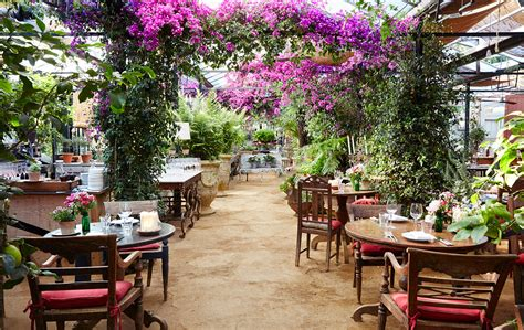 Blue Garden Cafe by Restaurants With Beautiful Gardens To Travel Is
