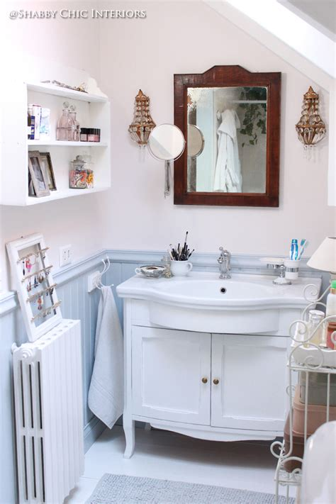 Shabby Bagno by Un Mobile Lavabo Mille Decorazioni Shabby Chic Interiors