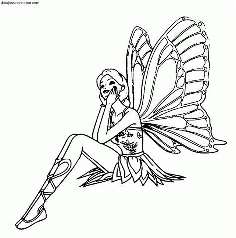 imagenes de hadas en blanco y negro dibujos de hadas para colorear