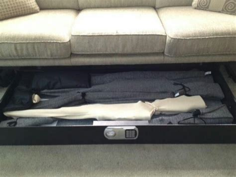 couch gun safe like the slide out gun safe for the couch rather than