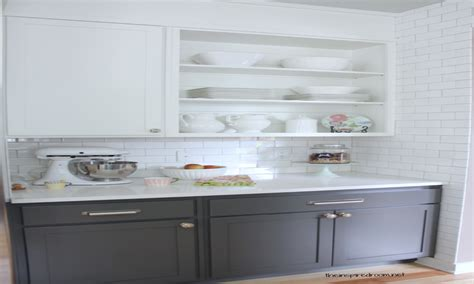 white upper cabinets grey lower gray lower cabinets dove white upper interior designs