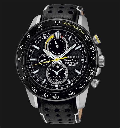 Jam Tangan Seiko Ssc seiko sportura ssc361p1 perpetual solar chronograph black