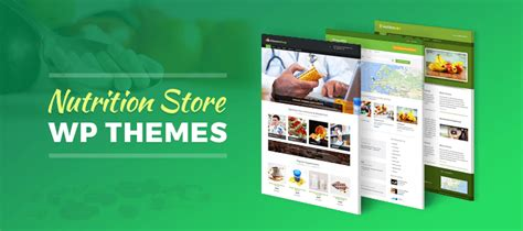 wordpress themes nutrition free 5 nutrition store wordpress themes free and paid formget