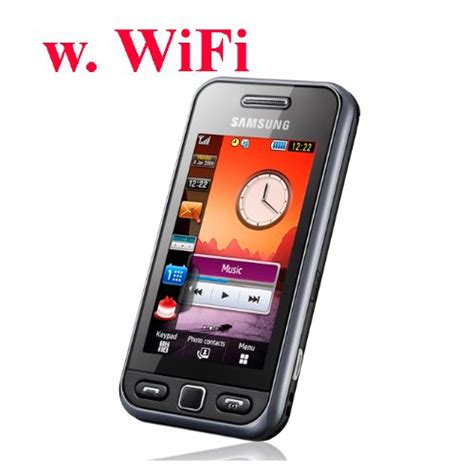 001837 Touchscreen Samsung 5233 Black samsung s5233w black unlocked band cell phone with