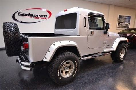 Are Jeeps Considered Trucks Find Used Rubitux Truck Conversion Jeep Wrangler