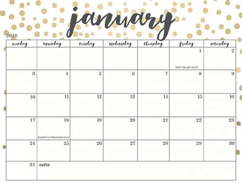 printable calendar 2018 cute january 2018 calendar cute 2018 calendar printable