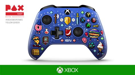 About Com Sweepstakes One Entry - pax east 2017 win a custom controller attend quot major nelson radio quot live xbox wire
