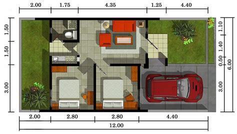 layout rumah kecil contoh denah atau sketsa rumah minimalis terbaru desain