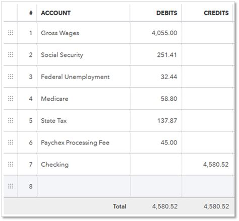 Template To Track Credit Card Transactions On Employees by Record Payroll Transactions Manually Quickbooks Learn