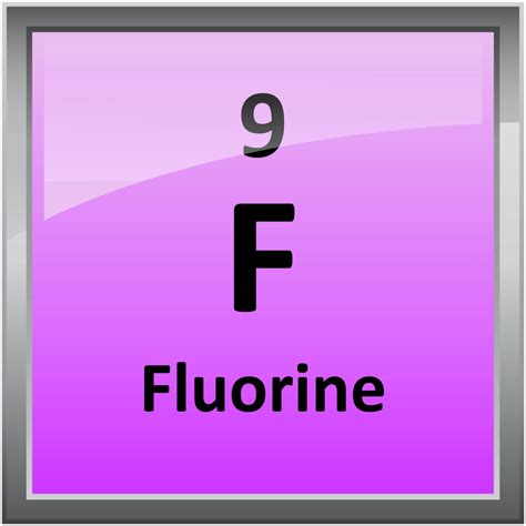 Fluorine Periodic Table by 009 Fluorine Science Notes And Projects