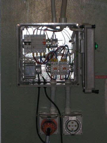 nsw tafe school welding bay outlet control panel installations ryan wilks