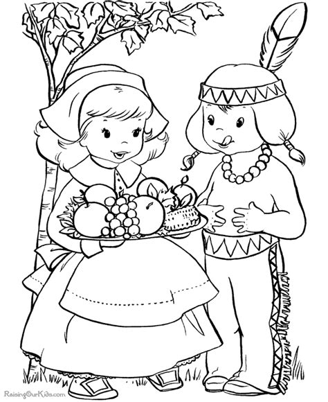 coloring page of thanksgiving dinner thanksgiving dinner pages to color 006