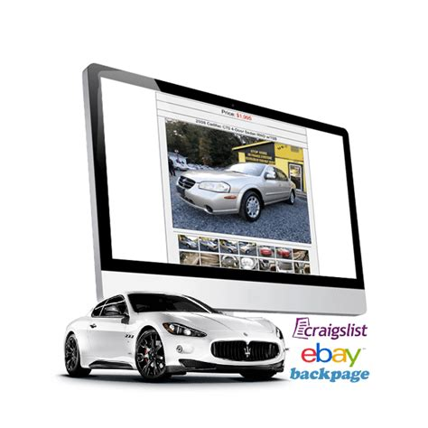 Craigslist Car Dealer Auto Posting By Autocorner Craigslist Car Posting Template