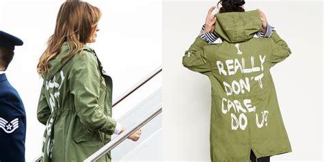 melania y su chaqueta con mensaje laboratorio de estilo