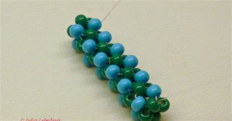the bead method beading for the beginners cubic right angle weave