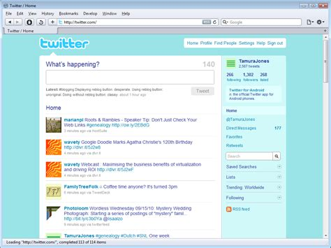 layout on twitter twitter redesign