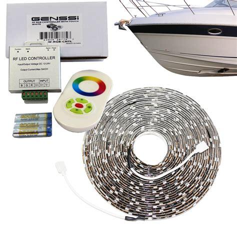boat marine interior led rope light kit rgb color