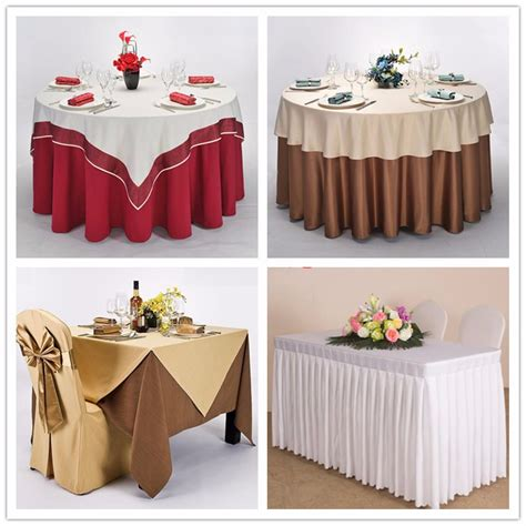 Buy Table Linens by Top Grade 100 Polyester Table Linens White Wedding Used Table Cloth Buy Wedding Table Cloth
