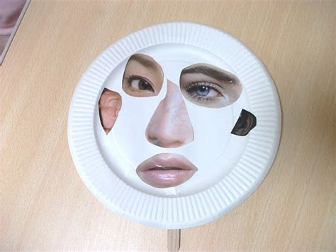 Mask Craft Paper Plate - preschool crafts for paper plate mask craft