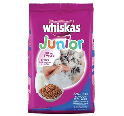 Whiskas Junior 1 1 Kg whiskas junior fish kitten food 1 1 kg nappets