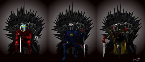 A Clash Of Kings: Game Of Thrones F1 Driver Posters