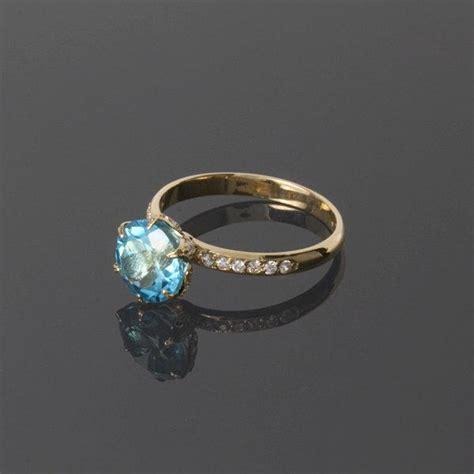 topaz ring topaz gold ring blue topaz ring gemstone