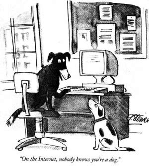 On the Internet, nobody knows you're a dog   Wikipedia